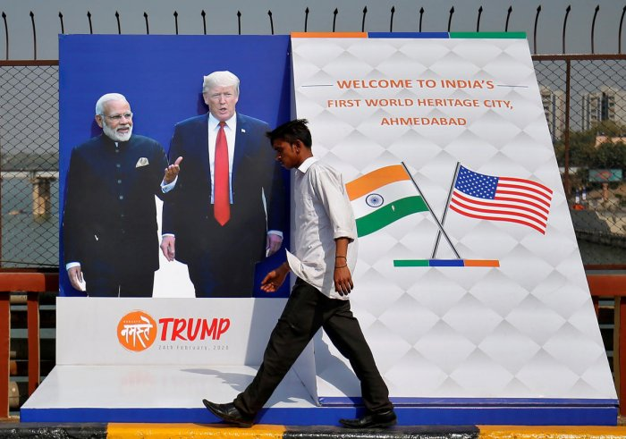 Trump and Prime Minister Narendra Modi are likely to focus on a wide variety of bilateral and regional issues including trade and investment, defence and security, counter-terrorism, energy security, religious freedom, proposed peace deal with Taliban in Afghanistan and situation in the Indo-Pacific, according to Indian and US officials.