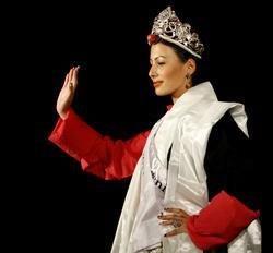 Tenzin Yangkyi from Switzerland crowned Miss Tibet