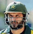 Afridi will not play Test cricket till 2011 WC