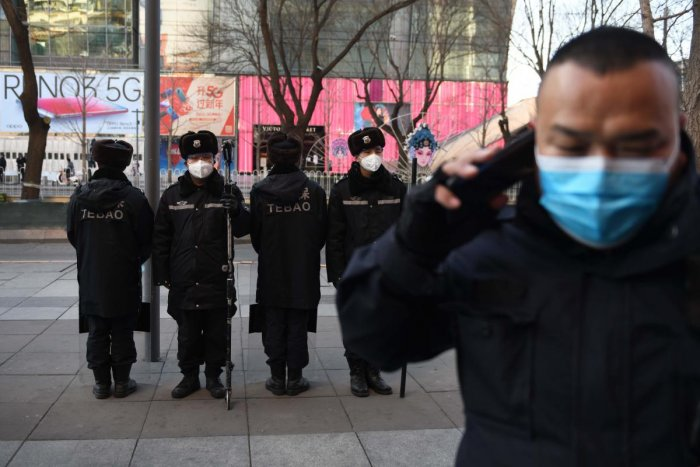 The outbreak has claimed 1,770 lives and prompted the closure of many schools, entertainment venues and large-scale events. Credit: AFP Photo