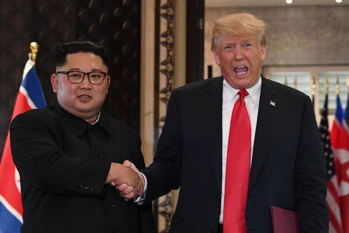 Three meetings between US President Donald Trump and North Korean leader Kim Jong Un failed to secure a landmark nuclear accord. (AFP Photo)