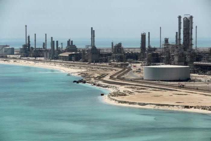 General view of Saudi Aramco's Ras Tanura oil refinery and oil terminal in Saudi Arabia. (Reuters File Photo)