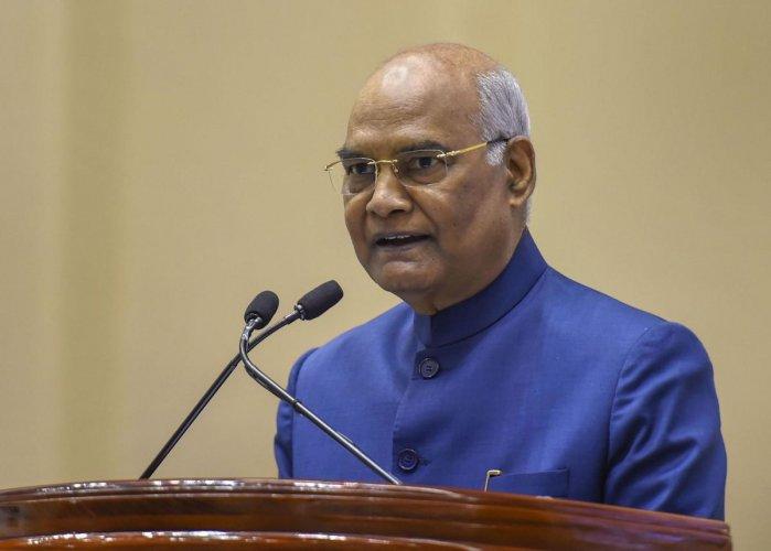 New Delhi: President Ram Nath Kovind. (PTI Photo)