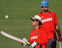 Indo-Pak bonhomie has a cricket glue