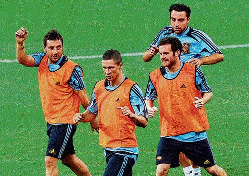 Spain raring to deliver another blow on Italy
