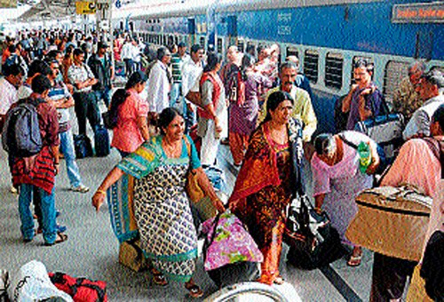 Partial rollback: Rail fare hike not to apply on suburban travel upto 80 kms