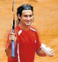 Ferrer fires champs Spain into quarterfinals