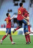 Easy outing for Germany; Spain labour