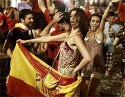 Spain erupts in nationwide fiesta as 'dream comes true'