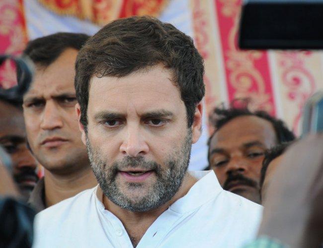 Rahul Gandhi, PTI file photo