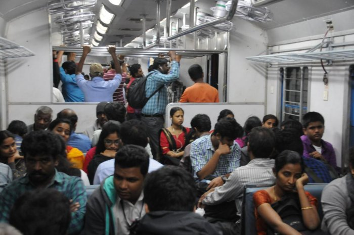The plan is to extend four lines from the present terminal points at Heelalige to Hosur, Kengeri to Ramnagaram, Rajanukuknte to Doddaballapur and Whitefield to Bangarpet. DH file photo
