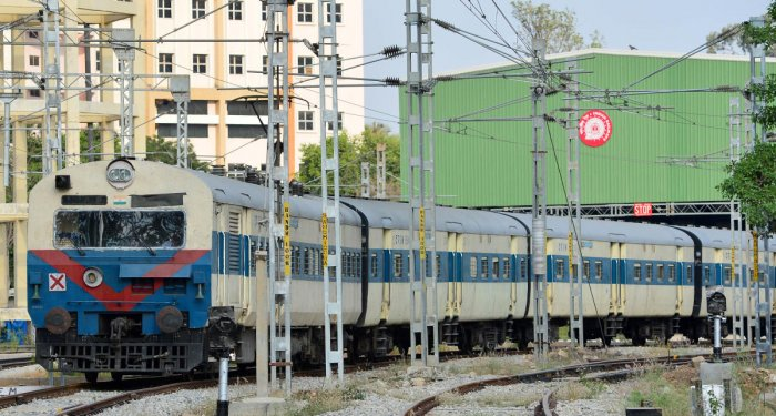 The suburban rail project has received only Rs 10 crore, which was allocated in the interim budget in February. (DH File Photo)