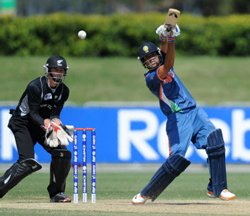 U19 cricket: India beat New Zealand to enter World Cup final