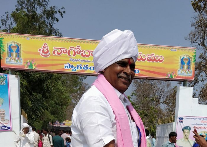 Koneru was in the news last year when his brother Koneru Krishna, also a TRS leader, publicly attacked a lady forest officer on duty. (Credit: Facebook Photo/@KoneruKonappa)