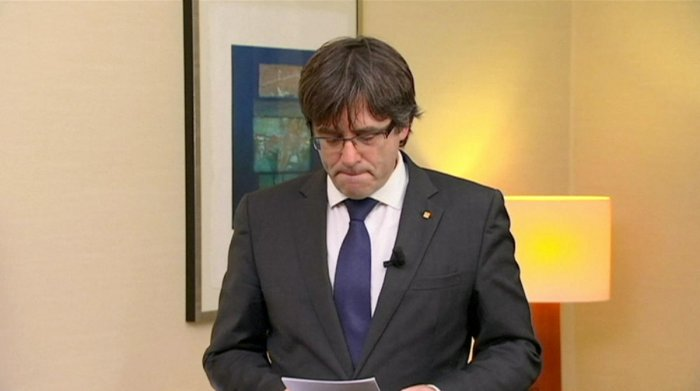Spain's most wanted: Ousted Catalan leader Carles Puigdemont