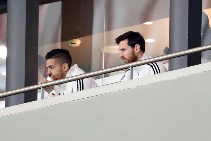 Injured Messi watches Argentina crushed 6-1 by Spain
