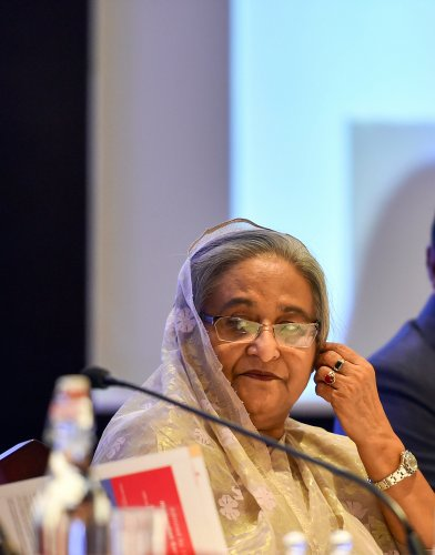 Bangladeshi Prime Minister Sheikh Hasina. (PTI Photo)