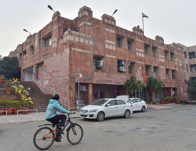 JNU campus, admin block (PTI file photo)