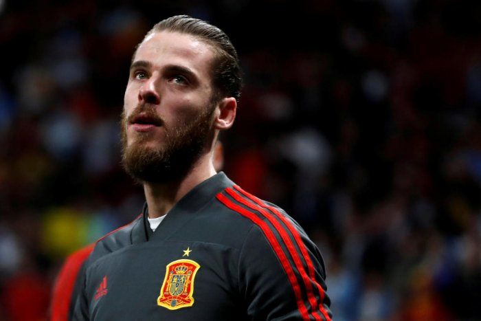 CAUGHT IN A STORM Under-fire following a poor performance against Portugal, goalkeeper David de Gea will be looking to hit back at his critics when Spain meets Iran on Wednesday. REUTERS