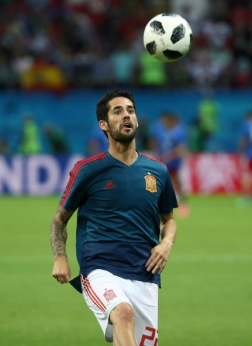 Isco has emerged as a new leader for Spain in the World Cup. Reuters