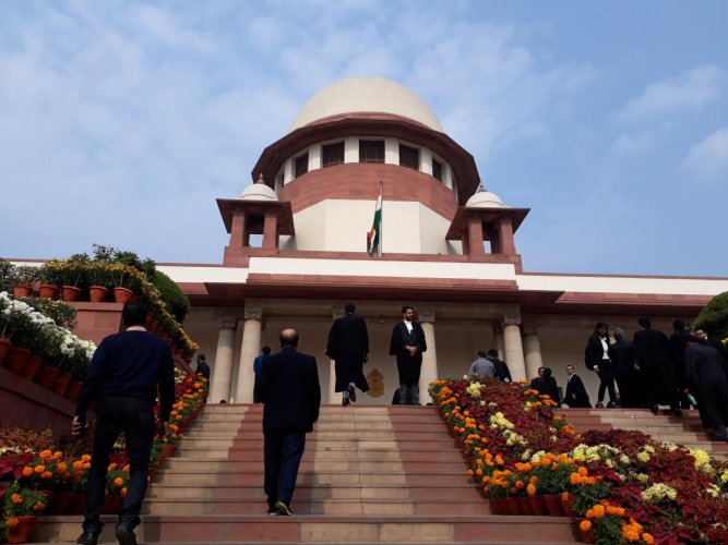 A view of the Supreme Court (DH Photo)