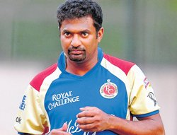 A sad day for cricket: Murali