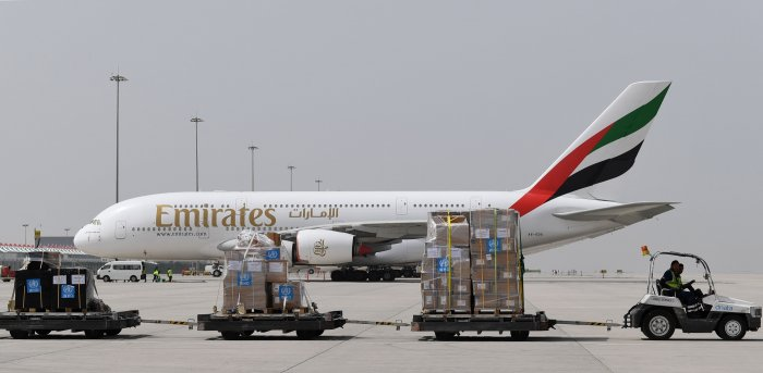 Flights would continue as long as borders remain open and there is demand, it said. Cargo flights will also operate. (Credit: AFP Photo)