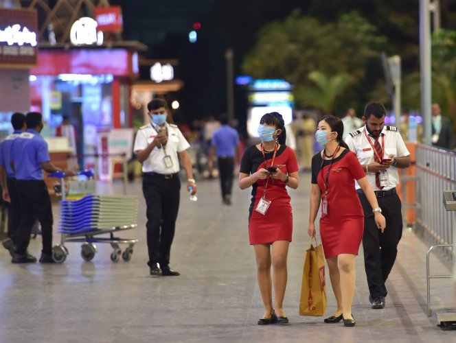 Out of 42 cases detected and confirmed in Karnataka, so far six cases are transit passengers of Kerala who have landed in airports and being treated in Karnataka.(Credit: PTI Photo)