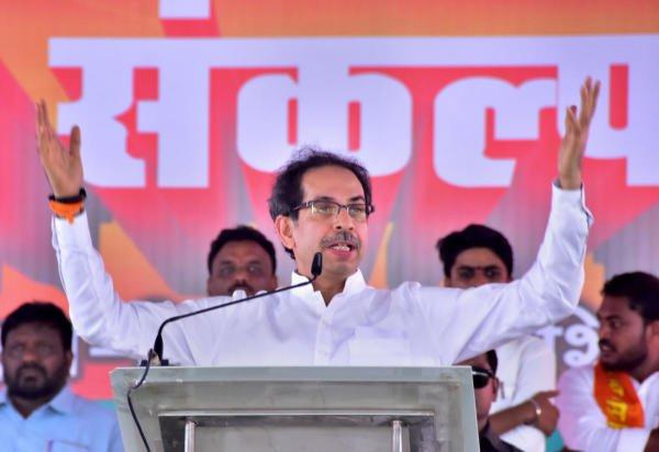 Shiv Sena party chief Uddhav Thackeray. (PTI photo)