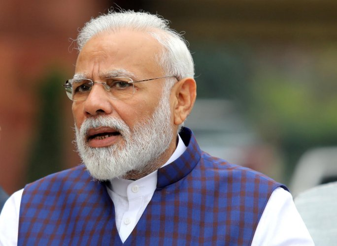 Modi has been taking to social media to disseminate information on ways to protect against the deadly virus. Reuters/File