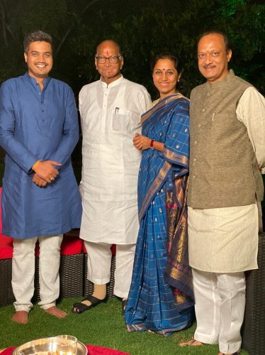 Pawar Sr had entered the Maharashtra Legislative Assembly in 1967 and since then, theBaramati seat in Pune district had been represented by the Pawar family.