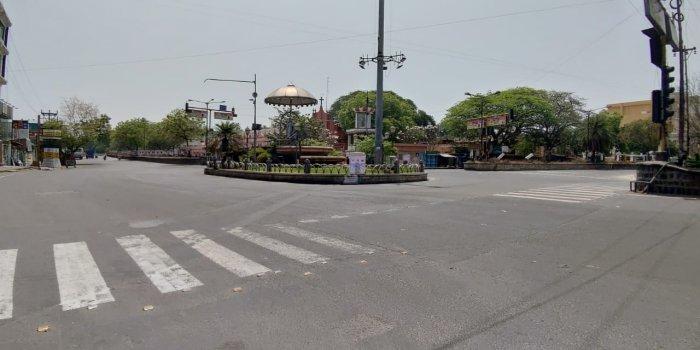 A street in Puducherry on Janta Curfew. Credit: Twitter (@pibchennai)