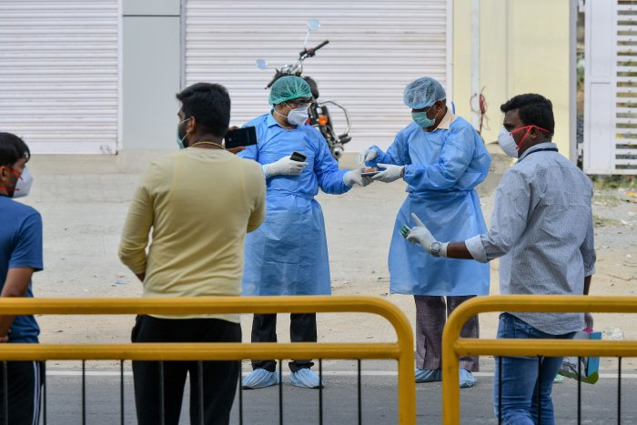 A total of 51 COVID-19 cases have been confirmed in the state, which include one death and three discharged, the state health department said.(Credit: AFP Photo)