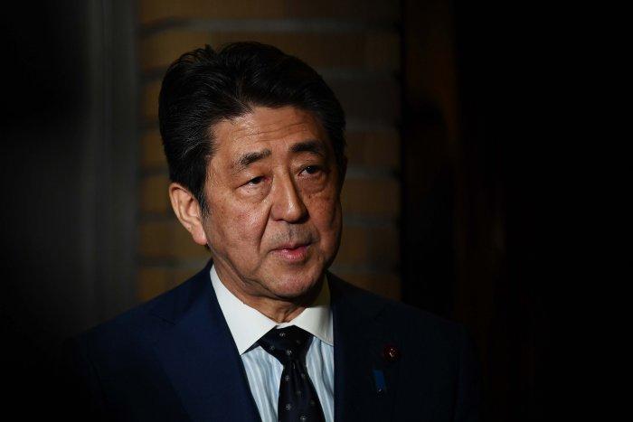 Japan Prime Minster Shinzo Abe. (Credit: AP)