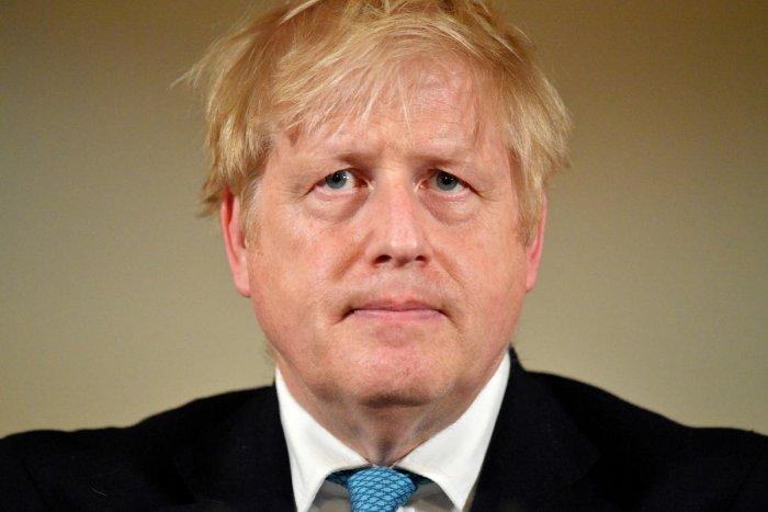 British Prime Minister Boris Johnson. (Reuters photo)