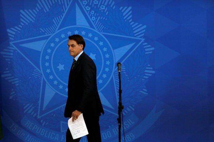 Brazil's President Jair Bolsonaro. (Reuters Photo)