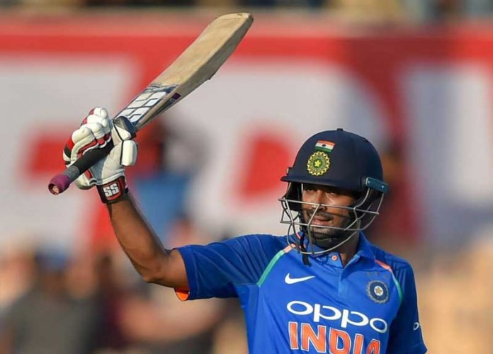 Rayudu was reported on Jan. 13 for suspect bowling action during India's first one-day international (ODI) of their series against Australia and the 33-year-old chose not to submit to a test of his action within the stipulated period of 14 days. PTI file photo