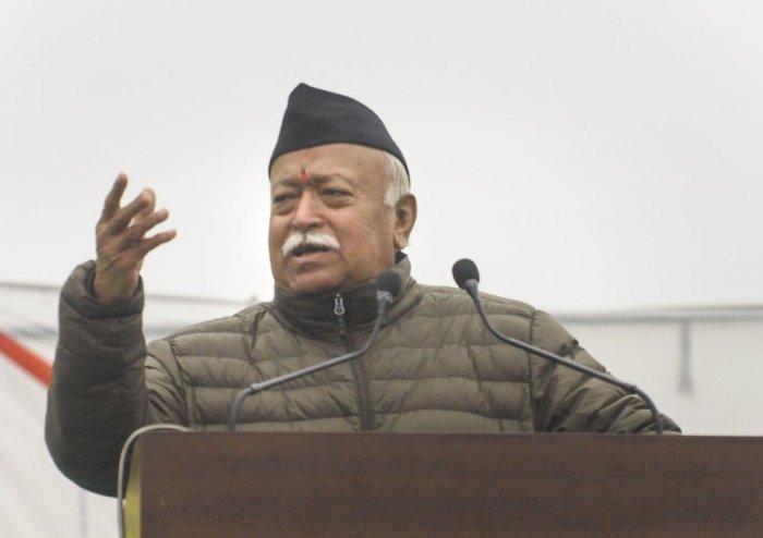 RSS chief Mohan Bhagwat. (PTI Photo)