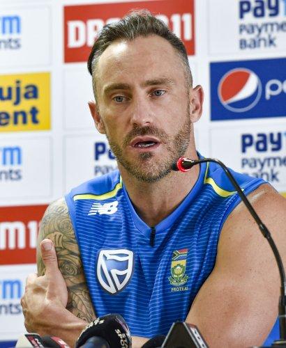South African captain Faf du Plessis. (PTI Photo)