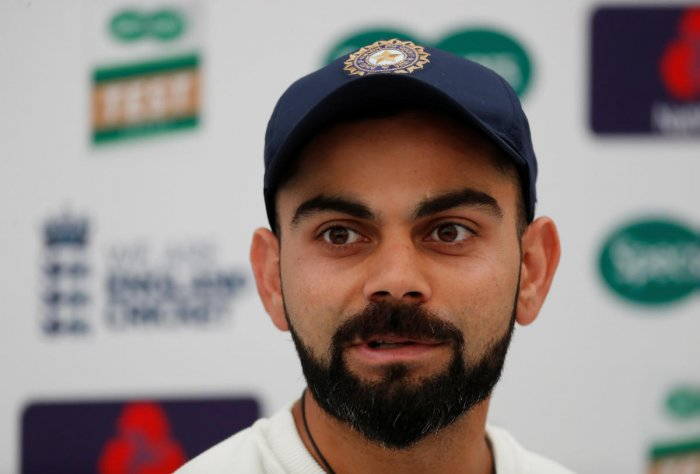 Kohli and India play their maiden World Test Championship game against West Indies, starting August 22 (Reuters File Photo)