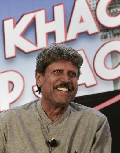 File picture of Kapil Dev. Photo credit: PTI