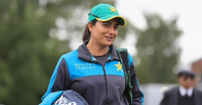 The former captain of the Pakistan national women's cricket team in ODIs and T20Is Sana Mir. (Photo by TWITTER)