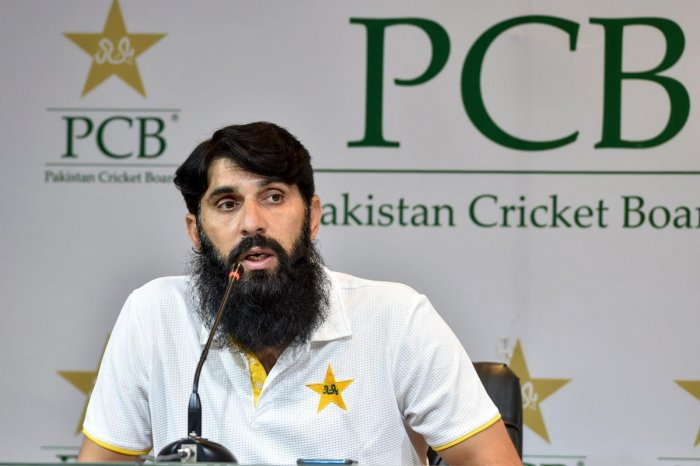 Misbah, who has faced criticism since becoming the first man in Pakistan cricket to hold two top posts of head coach as well as chief selector, also rued the lack of talent at the domestic level. Photo/AFP
