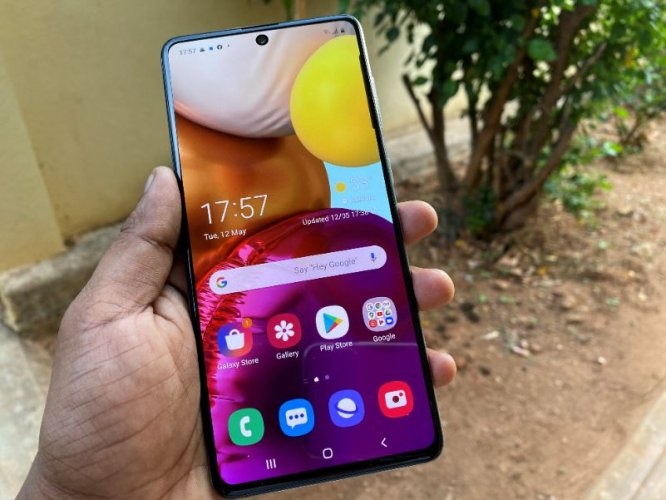 Samsung Galaxy A71 Review Reliable Mid Range Phone Deccan Herald