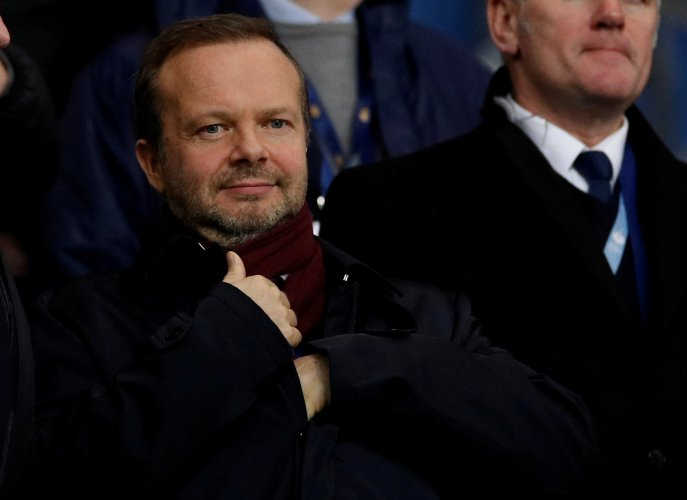 Manchester United executive vice-chairman Ed Woodward. (Reuters Photo)