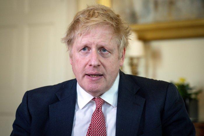 Britain's Prime Minister Boris Johnson. (AFP Photo)