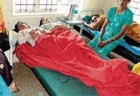 12 taken ill after taking hostel food