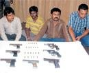 Illegal weapons racket busted, 22 nabbed in Karnataka