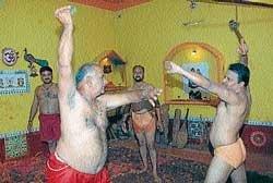Wrestlers of city set for 'Vajramushtikalaga'