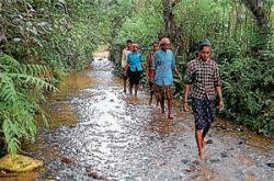 Bidare villagers to boycott polls